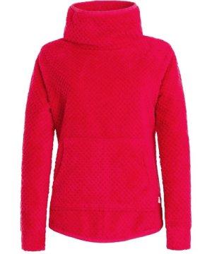 Weird Fish Stella Honeycomb Plush Fur Fleece Dark Pink Size 8
