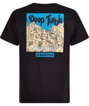 Weird Fish Deep Turtle Artist T-Shirt Black Size 2XL
