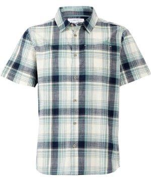 Weird Fish Blackwood Check Shirt Navy Size 4XL