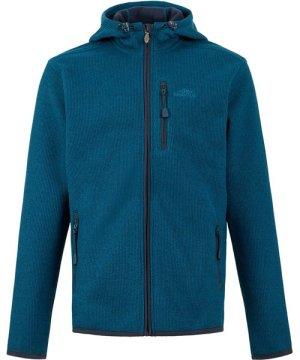 Weird Fish Lockie Full Zip Fleece Hoodie Storm Blue Size 4XL