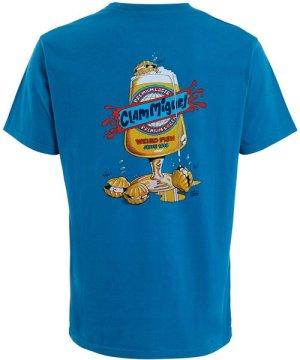 Weird Fish Clam Miguel Artist T-Shirt Storm Blue Size 5XL