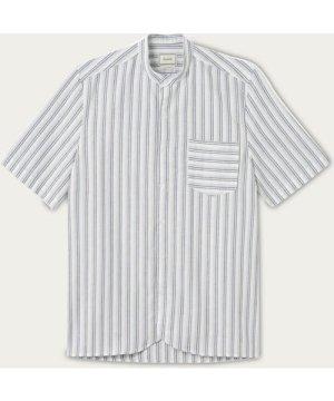 White/Navy Rail Shirt