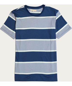 Monaco Blue/Stonewash Blue Dos Stripe T-Shirt
