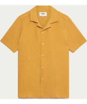 Matte Gold Didcot Short Sleeve Shirt