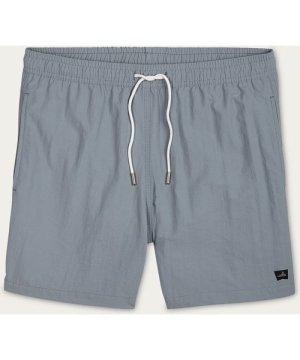 Mid Grey Hudson Swim Shorts