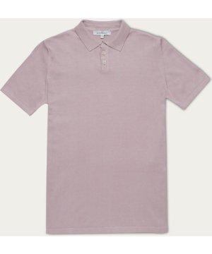 Lilac Italian Cotton Polo