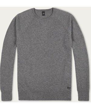 Mid Marl Grey Foster Merino Cashmere Sweater