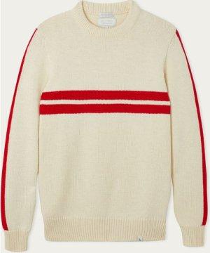 Ecru Racing Sweater