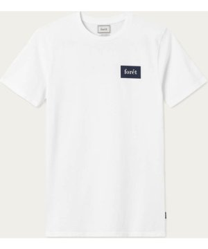 White/Midnight Blue Trek T-Shirt