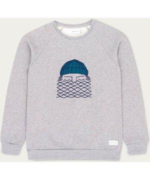 Gray To The Sea Sweatshirt