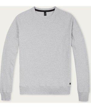 Light Marl Grey Rowe Piqué Sweater