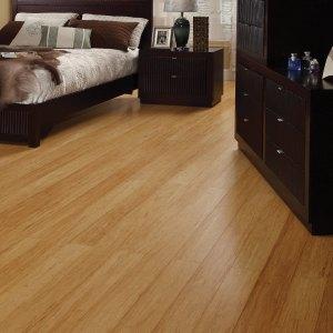 "Tesoro Woods - Clearance Flooring - 5"" Strand Bamboo, Natural"