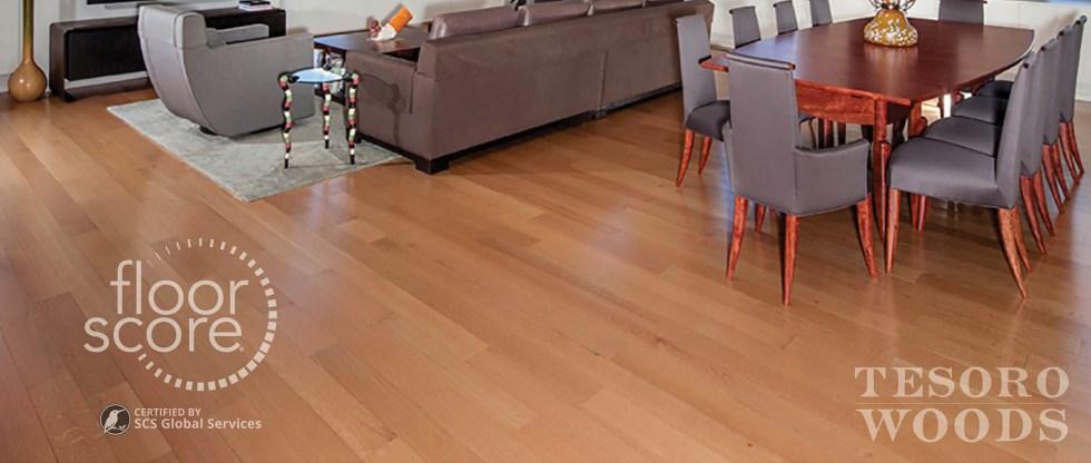 Tesoro Woods | VOCs in Flooring