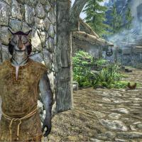 J'Zhirr at Riverwood entrance