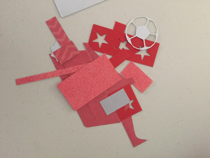 scrap pieces of paper