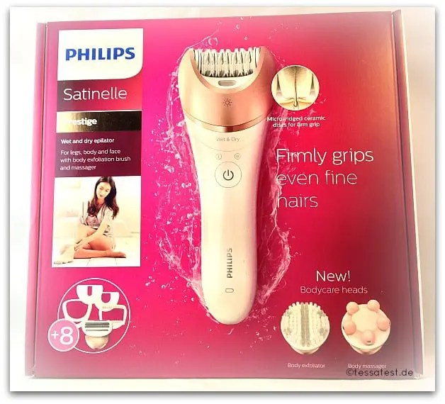 Philips Satinelle Prestige BRE650/00 im Test