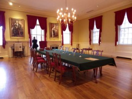 Royal Governor's cabinet room, Old State House Museum, Boston