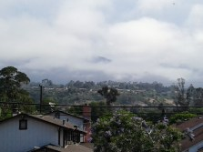Fog on the Santa Inez Mountains