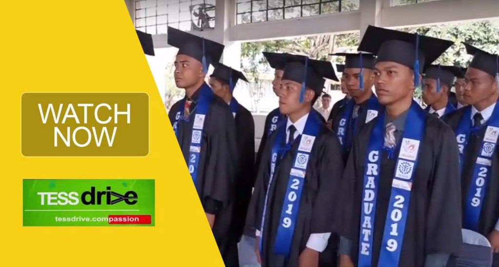 Scholars from TESDA's auto mechanic program