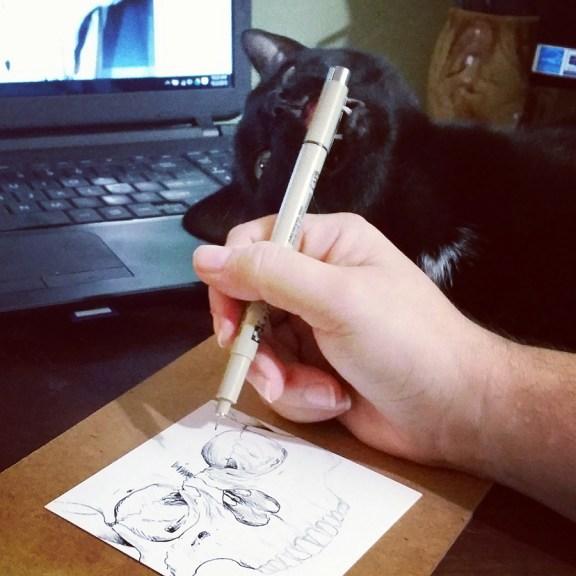 Pen Biting