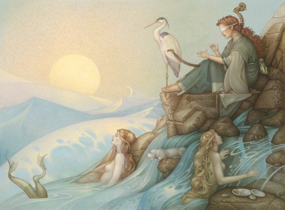 Morning Song by Michael Parkes