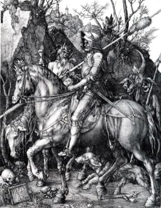 The Knight Death and the Devil, 1513 by Albrecht Durer
