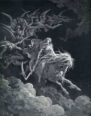The Vision of Death by Gustave Dore