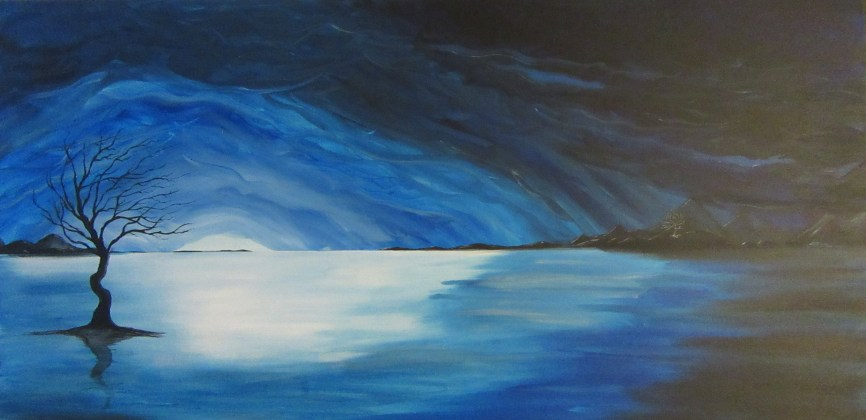 Lake of Longing - 24x48 - $150