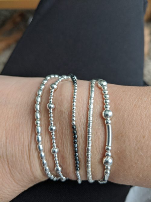 Tessories Stretch Bracelet Trio
