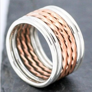 Twist Band Tessories Ring