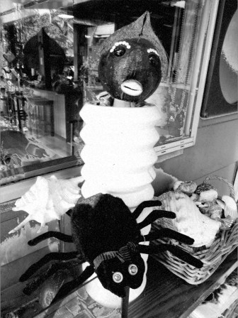 This black and white one looks like it came out of Alfred Hitchcock.