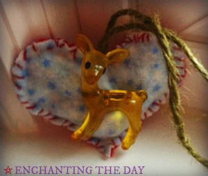 Deer Protection Rearview Mirror Charm by Tess Whitehurst