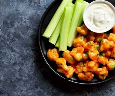 comfort food kitchen witchery buffalo cauliflower