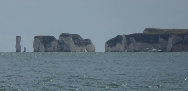 Old Harry Rocks, from Sandbanks
