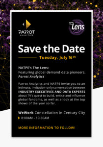 The Lens Save The Dater Announcement - Tuesday, July 16, 2019