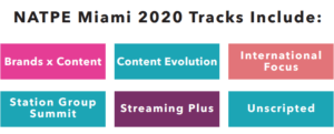 NATPE Miami 2020 Tracks Include