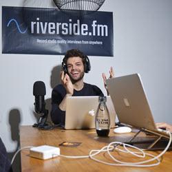 Nadav Keyson Co-founder, CEO Riverside.fm