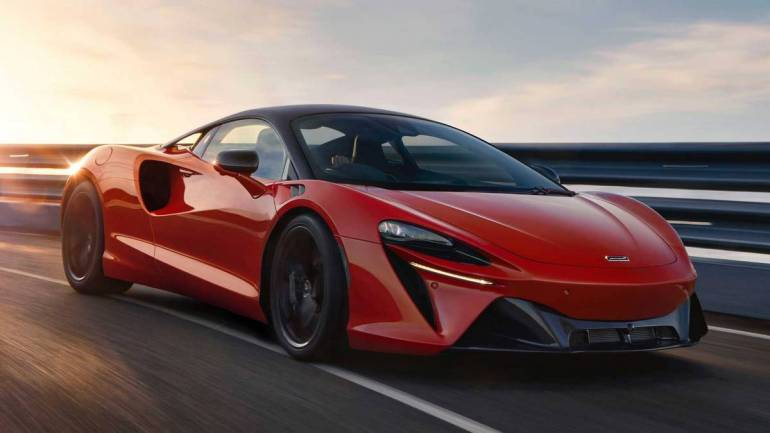 Aerodinamica della McLaren Artura