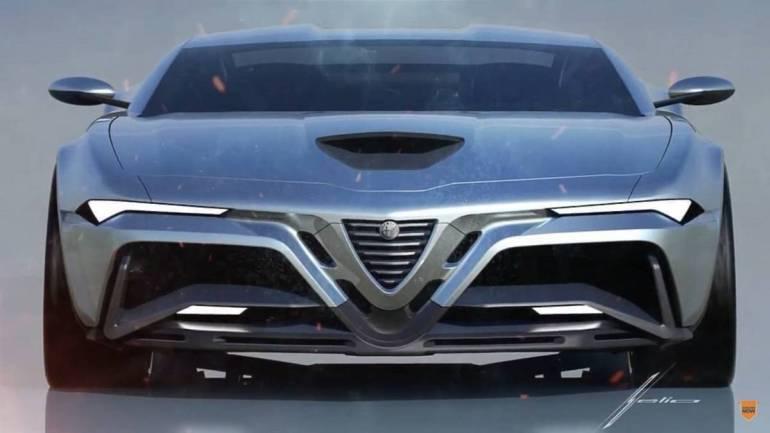 Rendering Alfa Romeo Montreal
