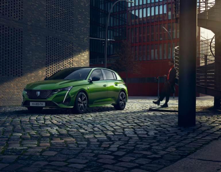 Luci di posizione LED Peugeot