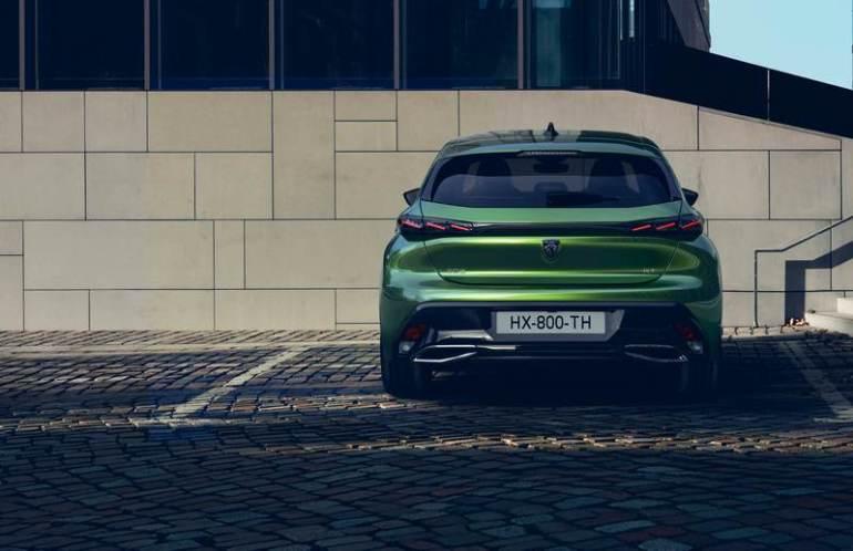 Posteriore Peugeot 308 2021