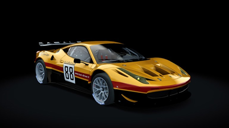 Test-Driver Assetto Corsa skin pack Ferrari 458 gt2 02