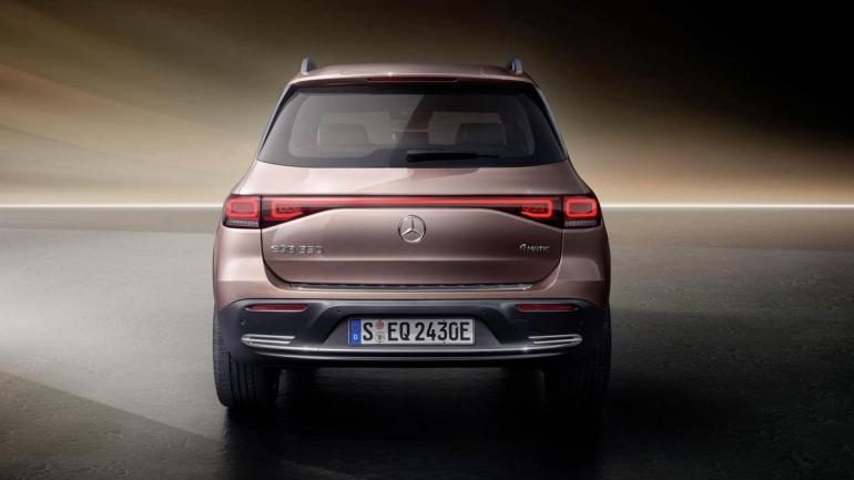 Posteriore Mercedes EQB