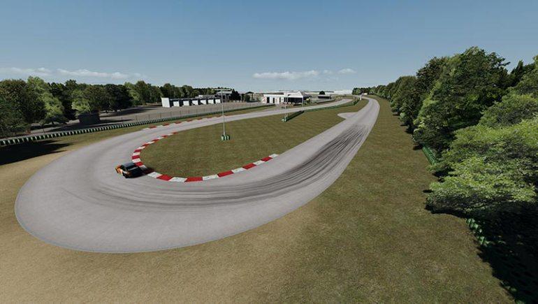 Circuito del Sele mod per Assetto Corsa curva fine rettilineo principale