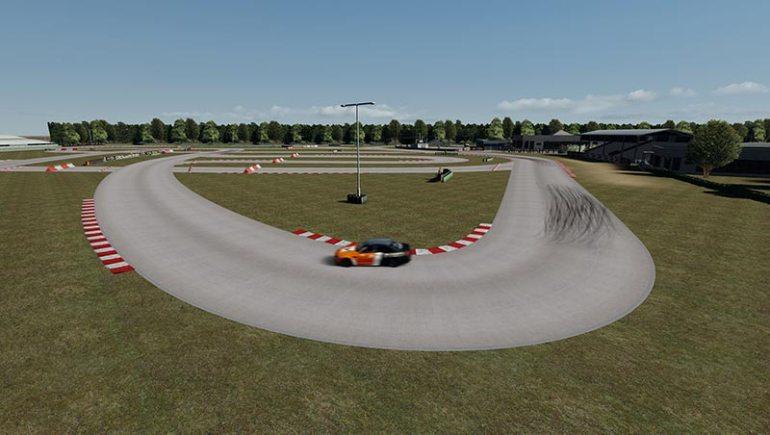 Circuito del Sele mod per Assetto Corsa curva uscita pit