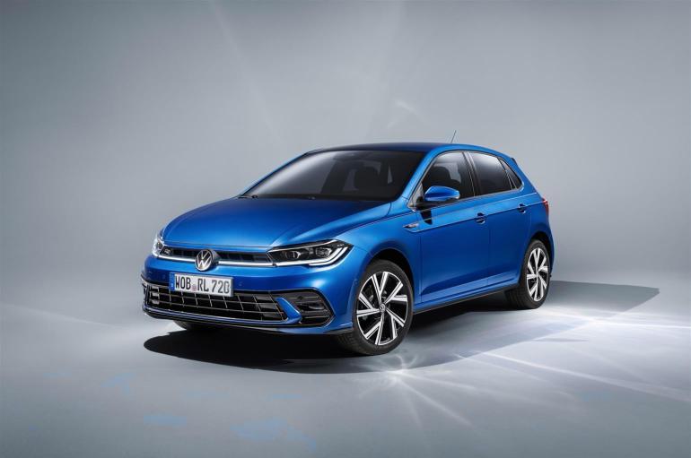 Anteriore della nuova Volkswagen Polo 2021