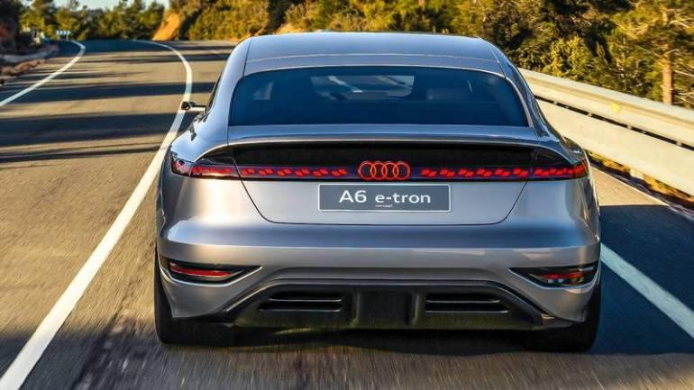 Posteriore della A6 e-tron