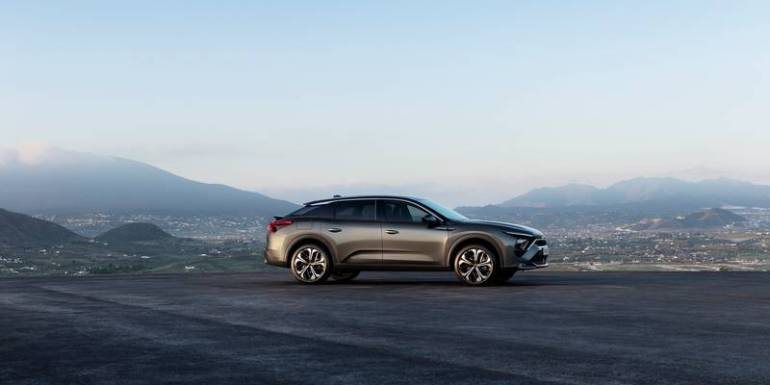 Le forme morbide ma muscolose della nuova Citroën