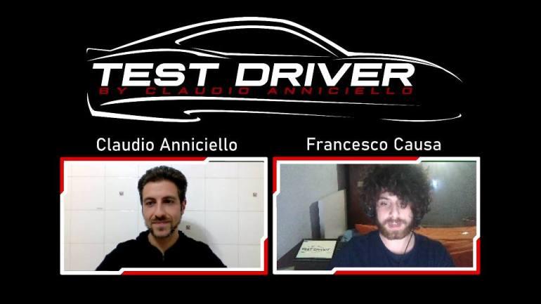 Claudio Anniciello e Francesco Causa in telecronaca