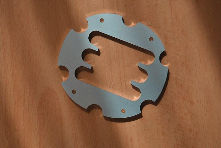 piastra metallo Mod cambio H custom plate per Logitech G29 G920 G923 G25 G27 by 3DRap